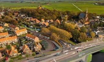 Luchtfoto van Ilpendam
