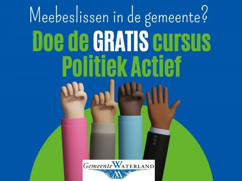 Cursus Politiek in Waterland