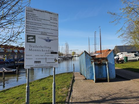 Monnickendam trailerhelling 11 april