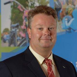 Gemeentesecretaris en algemeen directeur Erich Dijk